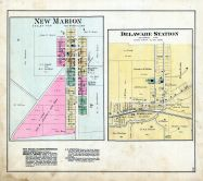 New Marion, Delaware Station, Ripley County 1883